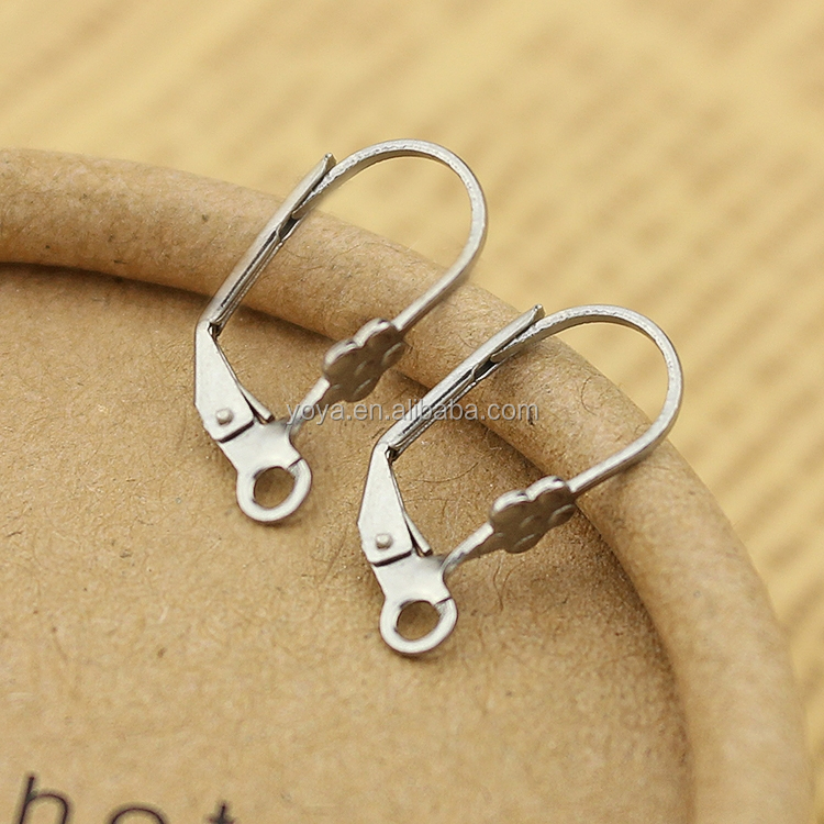 S668 stainless steel earring hook fashion design earring finding