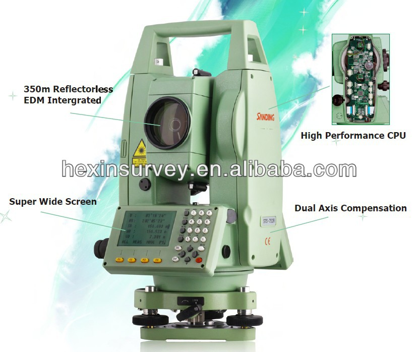 Sanding STS752R total station surveying equipment