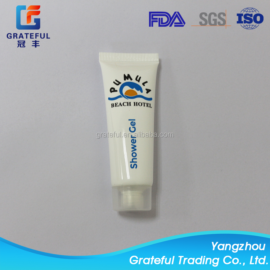 PE soft cosmetic body lotion packaging tube shower gel