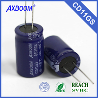 hot offer electronic components aluminum capacitor made in china