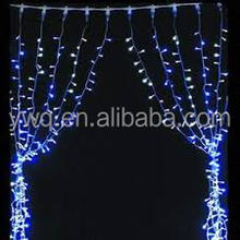 200led curtain light diy fiber optic lighting curtain