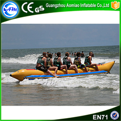 factory price commercial used inflatable banana folding boat for sale