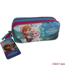 Wholesale pencil case , pencil case for kids , two compartments pencil case