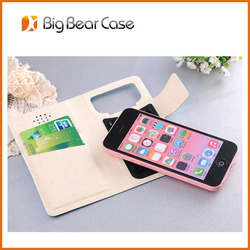 universal wallet leather genuine leather case for lenovo a800