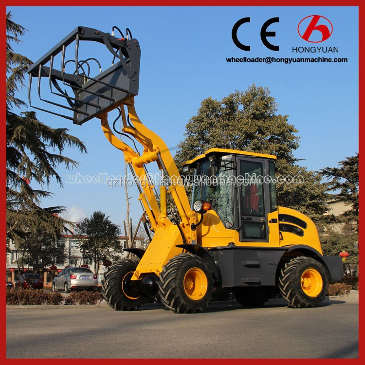 High quality 0.8T Mini wheel loader wheel alignment machinery price