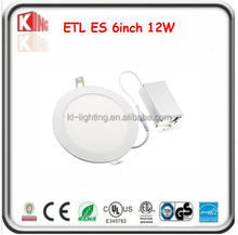 6inch led light panel light driver in a junction box