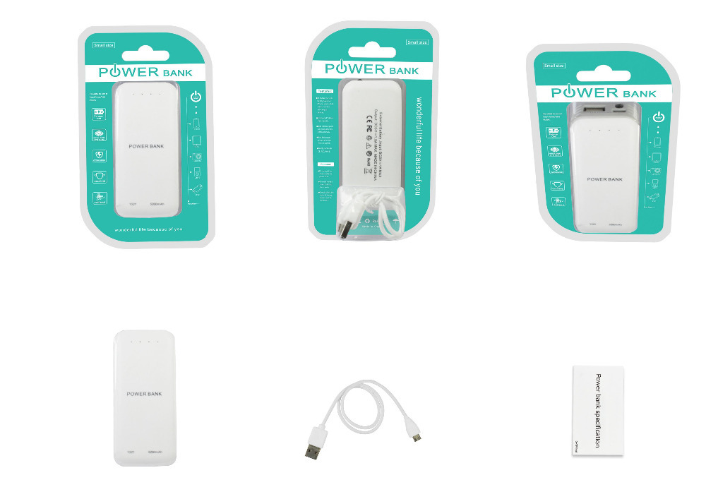 Special offer KIDD OEM power bank actual 4000mah $1.98 for wholesales HK electronics fair 3C-A32