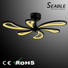 High quality ceiling fan shape with light by modern design