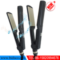 dongguan ionic jet black hair straightener flat iron from china factory with best cheap price