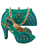 Italian Shoes And Bag Set 2017 Chinese High Heels African Women Shoes