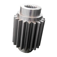 Nonstandard fishing spur pinion gear