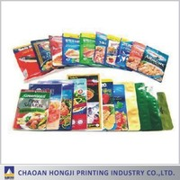 frozen food chicken pork beef meat laminated PET NY PE vacuum packing