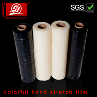 High quality SY packaging color LLDPE packing PE stretch film