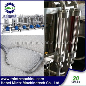 juice direct white sugar system with 96% total sugar recovery