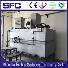 Sludge treatment polymer preparation and dosing system for water purification and dewatering ( PL3 series )