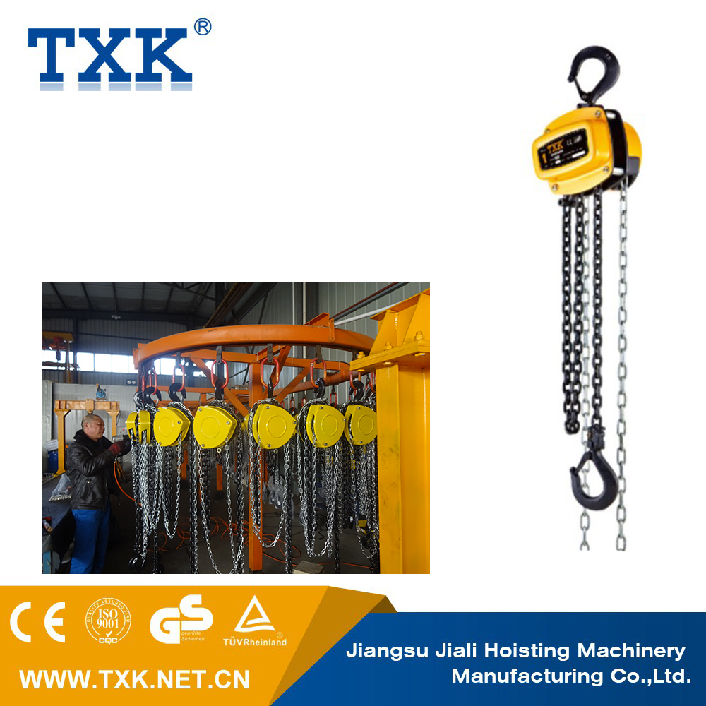 electric chain pulley block & hoist chain pulley block & chain pulley block mechanism