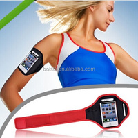 Hot New Products reflective velcro armband for iphone cell phone