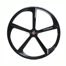 Wholesale fixe Bicycle Rims Fixed Gear Bike 5 spoke Wheels 700C fixed bike magnesium alloy wheel