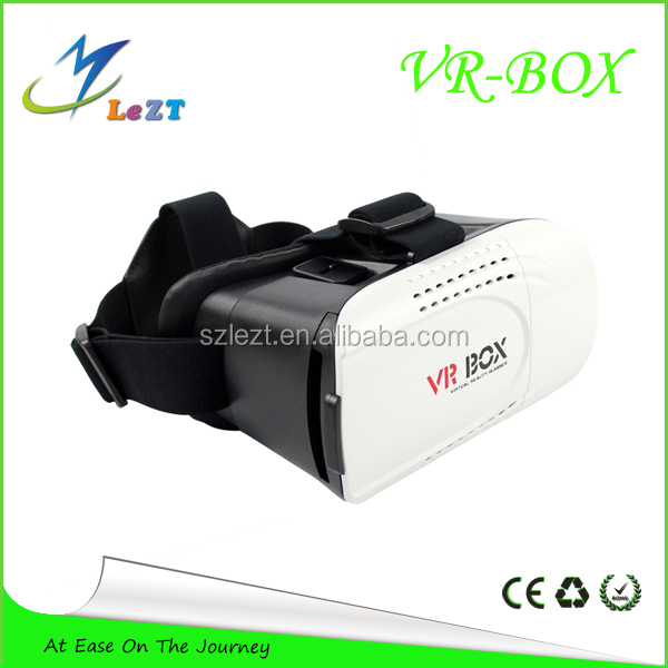 LeZT 2016 New Google Cardboard VR Box 2.0 Version Virtual Reality 3D Glasses for Game Movie 3.5-6.0 Smart