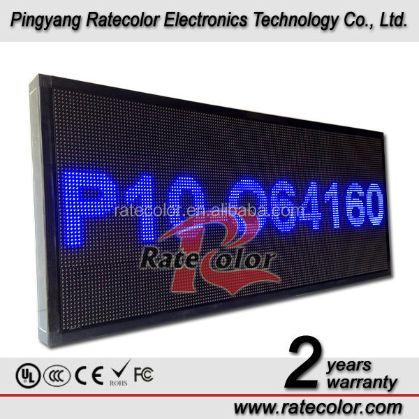 Programmable LED sign /Outdoor Advertising P10 led electronic information board