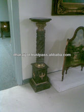 Black Granite Decorative Pedestal