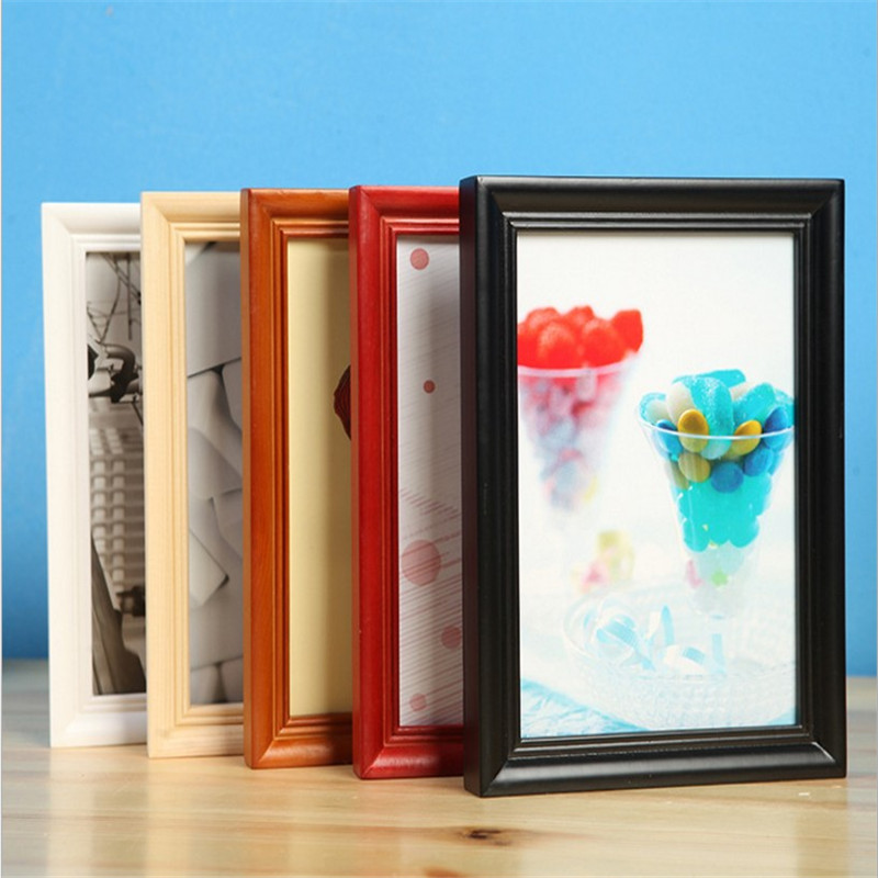 Promo decorative wood picture frame photo frame