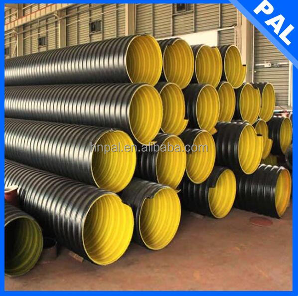 polymer self-lubrication galvanized culvert pipe prices with CE