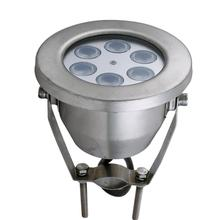 Professional IP68 waterproof 3w swimming pool light remote control