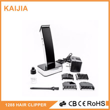 El recargable profesional barber salon hair clipper y trimmer