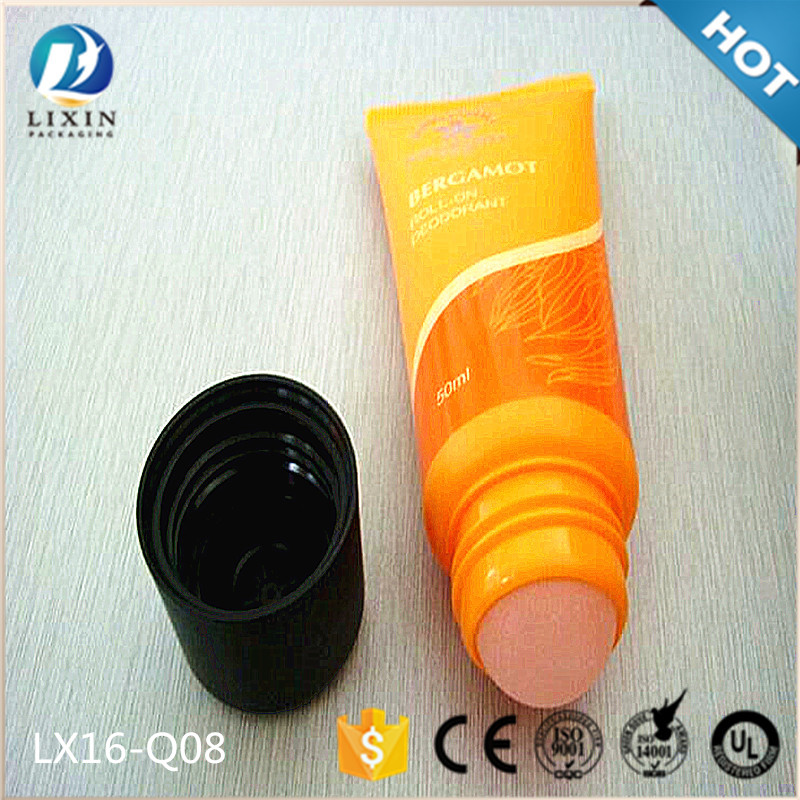 plastic roll up tubes massage roll on tube with roller ball applicator