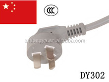CCC approval China copper conductor insulated electric power cord
