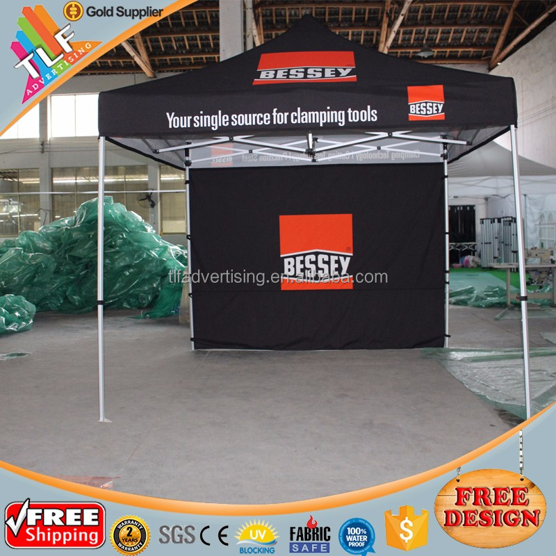 Custom printed portable marquees, pop up gazebos, pop up marquee tents