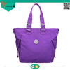 fashion leisure waterproof women shoulder bags nylon outdoor hand bags