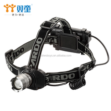Manufacturer Custom Made Long Working Time Best Most Powerful Aluminum head lamp led