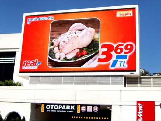 Signic outdoor advertising led display screen prices p6,p10,p12,p16,p20 modular led display