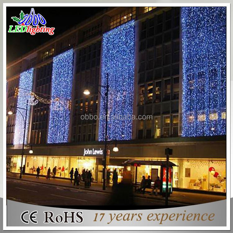 Christmas Lights Romantic Fairy Star LED Curtain String Lighting For Holiday Wedding Garland Party Decoration