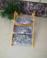 Double-used Dog Wooden Folding Ramp And Ladder