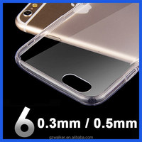 High Quality Transparent Cell Phone Case for iphone 6 plus Mobile Phone Accessory