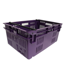 eco friendly vegetable packaging used small plastic crates