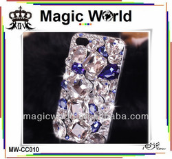 luxury bling rhinestone diamonds hard case cover for iphone 4s