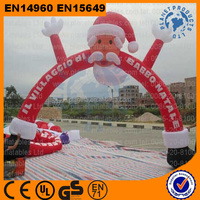 Outdoor Advertising Inflatable Christmas Arches, Inflatable Finish Line Arch For Sale