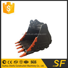xuzhou shenfu 2.8cbm hard rock bucket fit for 50ton excavator