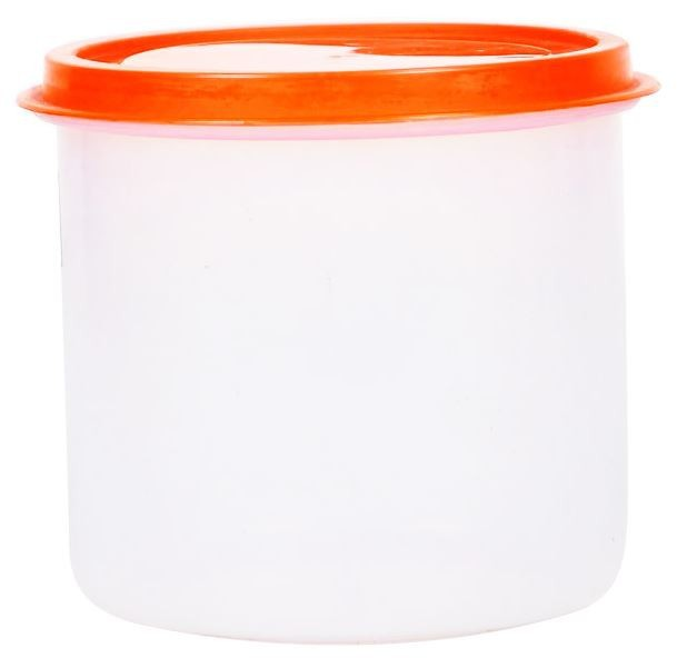 PLASTIC ROUND CONTAINER WITH LID 5612