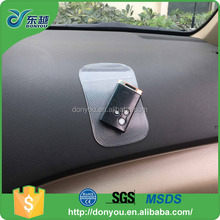 Hot sale car phone holder PU sticky non slip pad for cell phone