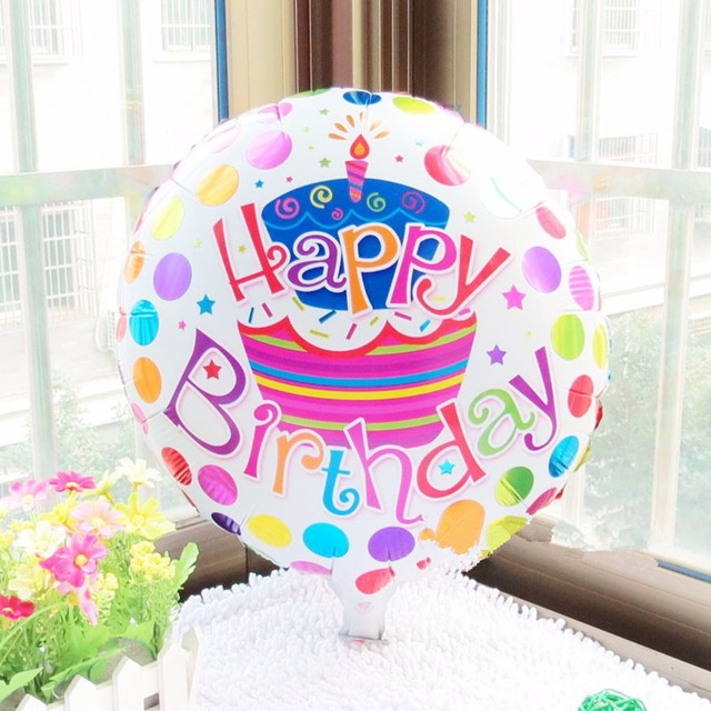 18 inch aluminum heart air balloon aluminum foil balloon cartoon children birthday party supplies decoration helium balloons