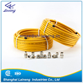 stainless steel flexible corrugated lengthened gas hose