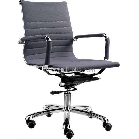 Elegant medium back office chair with wheel in GuangzhouFOH-F15-B)