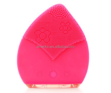 Beauty products face massager vibrator silicone face cleansing instrument