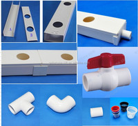 Hydroponic gutters/ hydroponic pvc pipe for agriculture