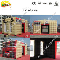 Lovely & practical inflatable style hot cube tent